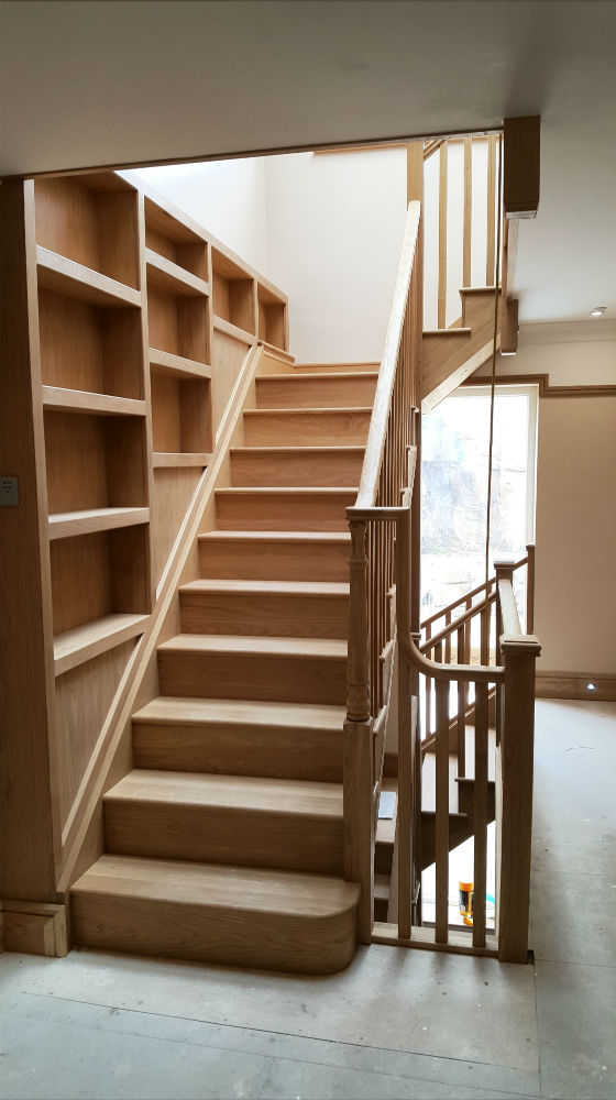 Charlie The Joiner - Joiner and carpenter Harrogate Leeds - Large bespoke staircase