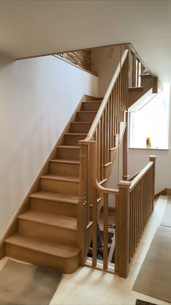 Charlie The Joiner - Joiner and carpenter Harrogate Leeds - Luxury staircase
