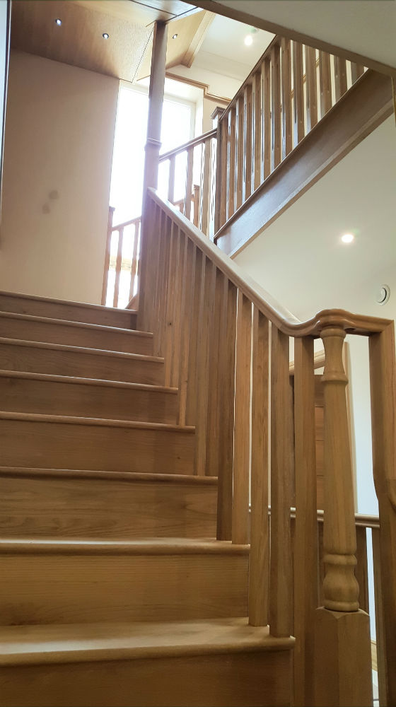 Charlie The Joiner - Joiner and carpenter Harrogate Leeds - bespoke wooden staircase
