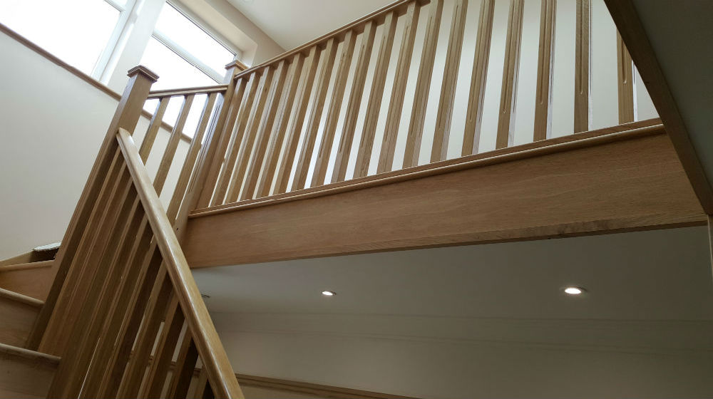 Charlie The Joiner - Joiner and carpenter Harrogate Leeds - handmade solid wood staircase - Gallery