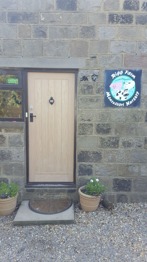 Charlie The Joiner - Joiner and carpenter Harrogate Leeds - solid external door