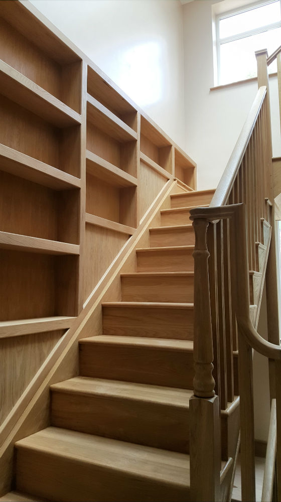 Charlie The Joiner - Joiner and carpenter Harrogate Leeds - staircase and storage solutions