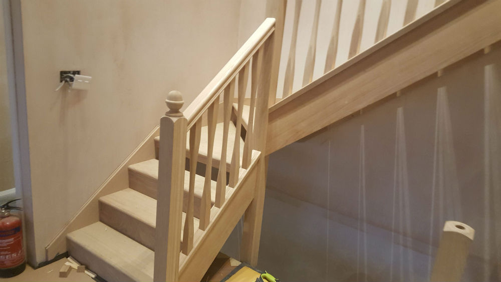 Charlie the Joiner - Luxury carpentry staircase spindles Harrogate